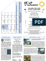 August 2016 UC Newsletter