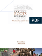 African Roots Foundation - Newsletter June 2008