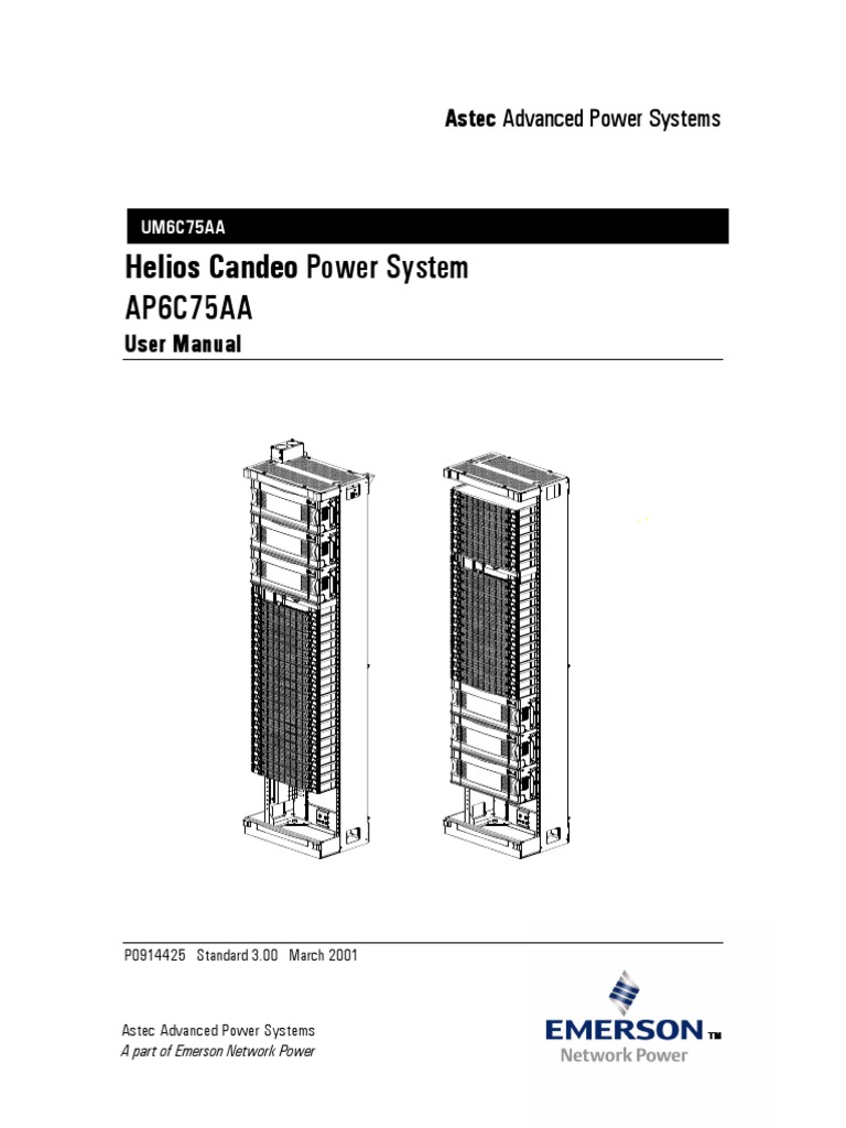Helios Candeo Power System - AP6C75AA | Electric Power System | Rectifier