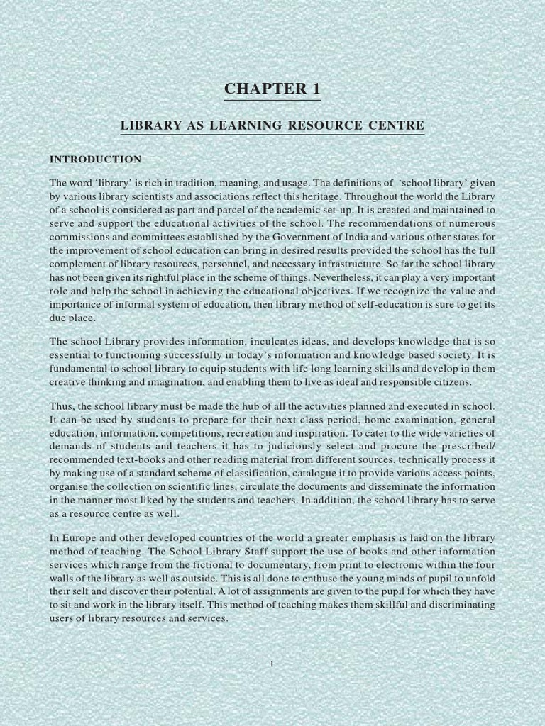 LIBRARY.pdf | School Library | Libraries