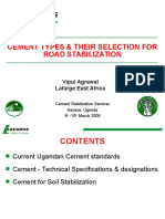 Cement Types and Their Selection for Road Stabilization- 10 Mar06