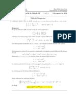 Segundo parcial Cálculo III, 3 de agosto de 2016