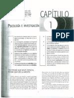Coolican (2005) Métodos de Investigación y Estadística en Psicología - Cap 1