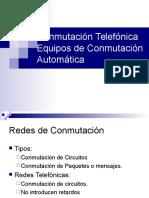Telefonia2016_2 Conmutación Telefónica 1