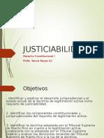 Tema 6- Justiciabilidad