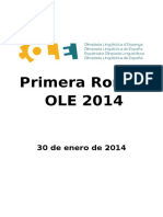 Ole 2014 1a Ronda Es