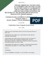Motunrayo Ige v. United States Attorney's Office, Keith D. Krakauer, Mark A. Kirsch, Thomas J. Farrell, 104 F.3d 353, 2d Cir. (1996)