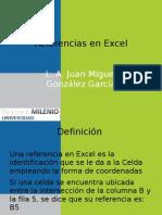 Referencias en Excel