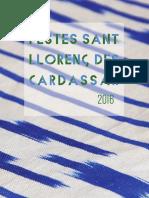Programasant Llorenc 2016