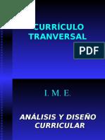El Currículo Tranversal Ime