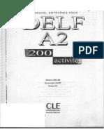 Delf A2 200 Activites