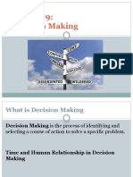 Chapter 9-Decision Making