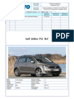 Vw Golf Plus 1.6 Fsi Blf