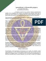 Aprendizaje y El Desarrollo Psiquico, Procesos de - May82 - Cecil a. Poole, F.R.C.