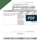 Planeación Didáctica Administración Pública
