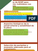 Directrices de NCEP Para Tratamiento