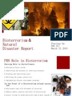 Bio Terrorism Report
