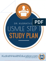 Dr. Kudraths USMLE Step 1 Study Plan 2