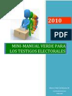 Testigos Electorales_Partido Verde