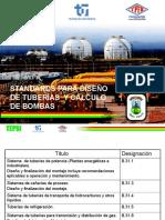 Standards para diseño de tuberías.pptx