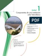 componenetes instalacion fotovoltaica