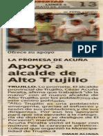Correo 04-05-09 Apoyo a alcalde de Alto Trujillo