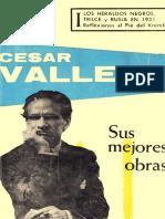 Cesar Vallejo; Sus Mejores Obras
