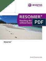RESOMER Product Brochure En