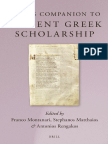 MONTANARI+R+Brll's Companion to Ancient Greek Scholarship. 1 & 2 (2015)