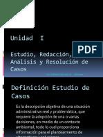 Unidad 1 Estudio Analisis y Analisis de Casos