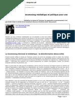 Atlantico.fr - Tuerie de Toulouse Boomerang Mediatique Et Politique Pour Une Certaine Gauche - 2012-03-24