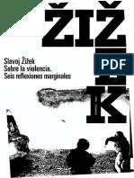 ZIZEK Slavoj Sobre La Violencia
