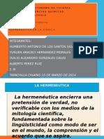 FILOSOFIA HERMENEUTICA