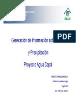 IDEAM Generacion Clima-precipitacion