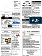 Church Newsletter 30 May 2010