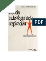 Ramacharaka Yogui - Ciencia Indo Yogui de La Respiracion