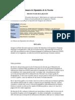 Proyecto de Declaracion - Clave acceso al Sistema Integrado de Información Financiera (SIDIF) - 2295 D 2010