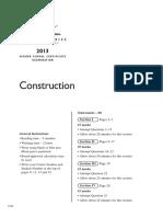 2013 Hsc Vet Construction 1