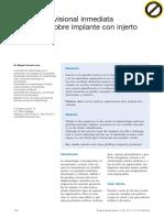 Prótesis Provisional Inmediata Atornillada Sobre Implante1