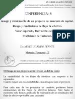 Conferencia.8.9-Riesgo.rendimiento de Flujo de Efectivo en Inversiones