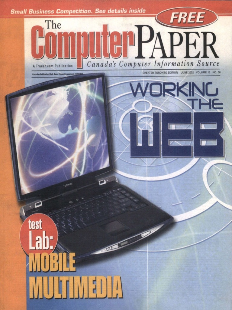 2002-06 the Computer Paper - Ontario Edition | Adobe Flash
