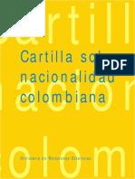 Cartilla Nacionalidad