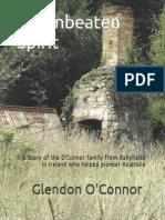 An Unbeaten Spirit - The O'Connor Family - Glendon O'Connor