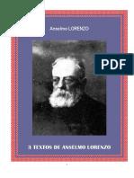 Lorenzo Anselmo Tres-textos