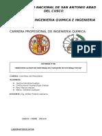 """""""IDENTIFICACION DE SISTEMAS EN TANQUES NO INTERACTIVOS"""""""