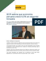 BCR estima que economía peruana creció 6.docx