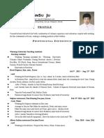 english resume