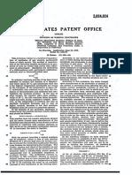 Patente Xantato