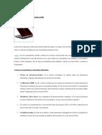 Características de Las Laptop
