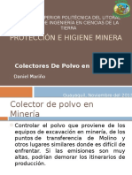 Colectores de Polvo